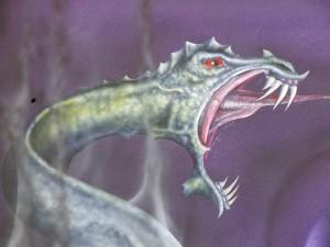 Drachen  Detail