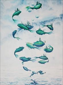 Fischwirbel